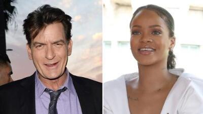 Charlie Sheen le pide perdón a Rihanna por insultarla