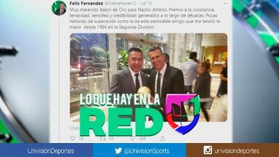 Rodolfo Cota troleó a Félix Fernández por abrazar a Ignacio Ambriz