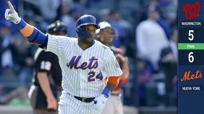 Festival de cuadrangulares de los Mets hunde a los Nationals