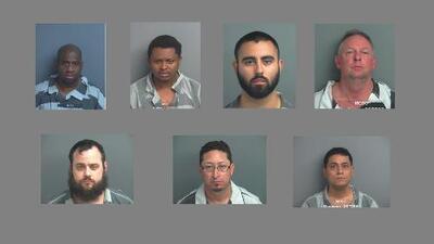 Arrestan a ocho personas, incluyendo a un menor de edad, en redada contra prostitución y tráfico humano