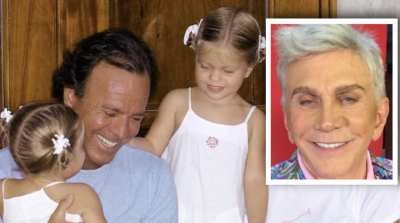 Osmel Sousa les hace tremendo piropo a las ya adolescentes hijas de Julio Iglesias