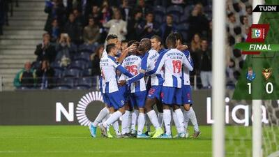 Con Corona los 90', Porto venció al Desportivo Aves y sigue en la pelea por la punta