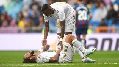 Marcelo se suma a las bajas del Real Madrid