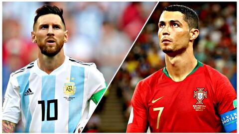 ¡Los extrañamos! Messi y Cristiano vuelven con su selección después de ocho meses de ausencia