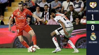 El Rayo Vallecano de Jémez logra un triunfo histórico ante el Real Madrid