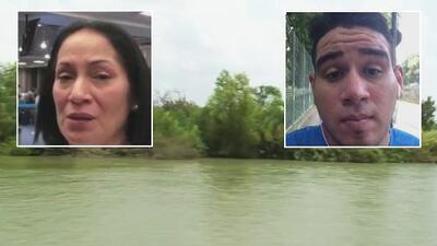 Acompañamos a una madre desconsolada por el cuerpo de su hijo que murió tratando de cruzar el río Bravo