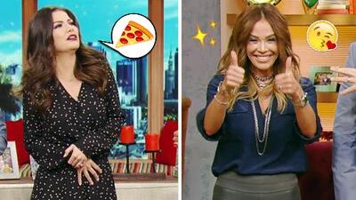 #DAEnUnMinuto: Karla le envía buena suerte a su hija y a Ana le duele la barriga por tanta pizza