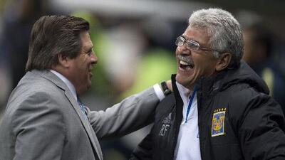 Miguel Herrera comentó que más que un Ferguson, le gustaría ser un 'Tuca' Ferretti