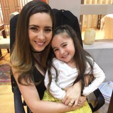 Lara Campos es hermana de una conocida actriz de telenovela