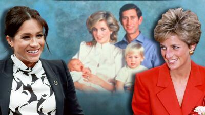Meghan Markle continúa una tradición que inició Lady Diana con sus hijos William y Harry