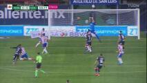 ¡Poste! Al minuto de juego avisa Atlético de San Luis