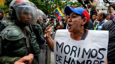 A un tribunal militar por pedir a la Fuerza Armada en un video que no reprima las protestas contra Maduro