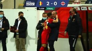 Bélgica sostuvo el liderato y eliminó a Inglaterra