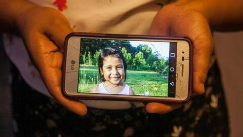 El anhelado reencuentro de una niña y su familia en Guatemala tras estar separados por tres meses