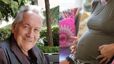 A sus 67 años, papá de Gael García embarazó a su novia que es 31 años menor que él