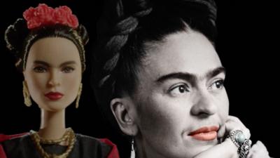 Convierten a Frida Kahlo en Barbie para celebrar el Día de la Mujer