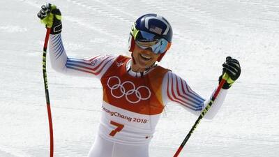 ¿El adiós de Lindsey Vonn? Se queda con bronce en el downhill de los JJOO Pyeonchang 2018