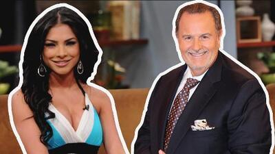Alejandra Espinoza confesó el miedo que le tenía a El Gordo al presentar por primera vez el show con él