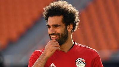 Mohamed Salah está listo para su debut en la Copa del Mundo