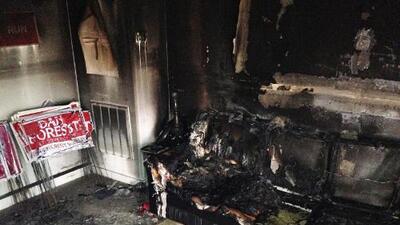 Una oficina del Partido Republicano en Carolina del Norte fue objeto de un incendio deliberado