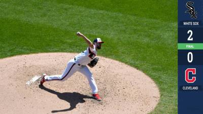 Lucas Giolito maniata a los Indians y ayuda a los White Sox a ganar en casa