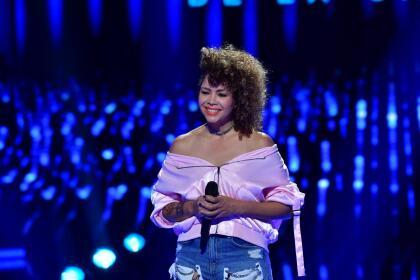 Nacida en Panamá, esta joven interpretó 'Nota de amor' de Wisin y Carlos Vives.