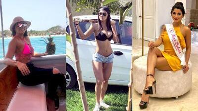 EN FOTOS: Adriana Méndez, la reina de belleza arrestada por vínculos con un narco