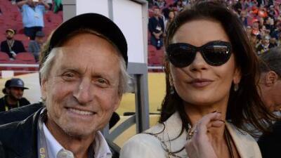 Michael Douglas sigue siendo 'sexy' gracias a Catherine Zeta-Jones