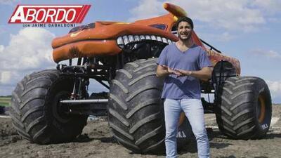 ¡Aprendí a conducir un Monster Truck! | A Bordo