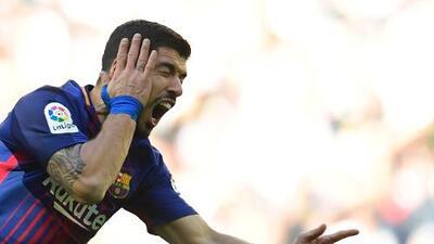 Luis Suárez llega a 400 goles en su carrera y lo celebra en redes sociales