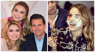 Sofía Castro cumplió la mayoría de edad en todo el mundo y así lo celebró