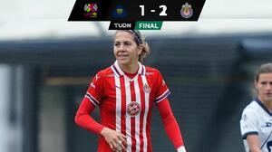 Chivas ]Femenil recupera el camino de la victoria ante Pumas