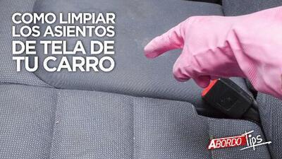 Como limpiar los asientos de tela de tu carro   A Bordo Tips