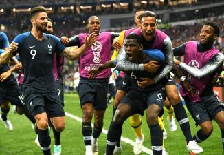 En fotos: Francia campeón de Rusia 2018, en una final en medio múltiples hechos inéditos