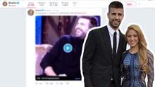 Shakira hace una publicación que enciende los rumores de que hubo boda en secreto con Piqué