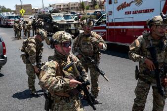 En fotos: Tiroteo en centro comercial en El Paso deja múltiples víctimas