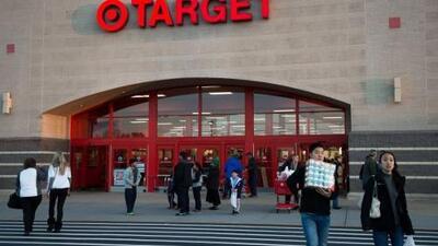 Registros de la tienda 'Target' están fuera de servicio en todo el pais