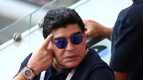 Claudia Villafañe demanda 1.5 mdd a Diego Maradona por violencia de género