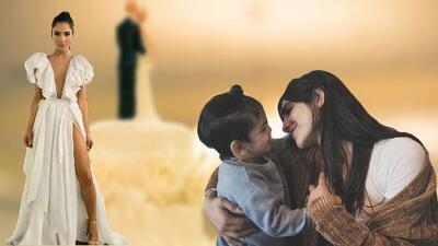 """""""No creo que este pajecito haga un buen trabajo"""": el hijo de Alejandra Espinoza practica para caminar al altar"""