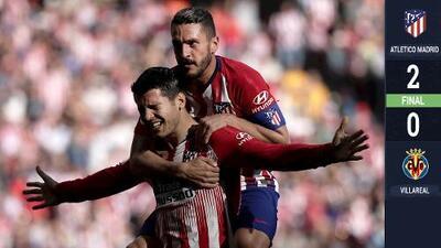Álvaro Morata se estrenó en triunfo del Atlético sobre Villarreal
