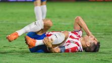 Jesús Molina conoce la gravedad de su lesión en Chivas