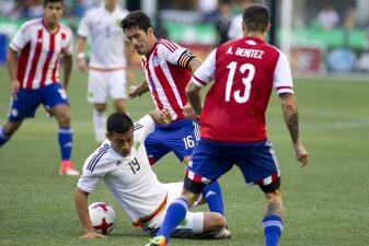 Estos son los cinco jugadores más caros de las selecciones de México y Paraguay