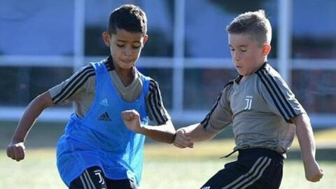 ¡El heredero se estrenó! Cristiano Jr. marcó cuatro goles en su debut con la Juve
