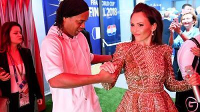 Ronaldinho, Nicky Jam y Will Smith iluminaron la Ceremonia de Clausura del Mundial
