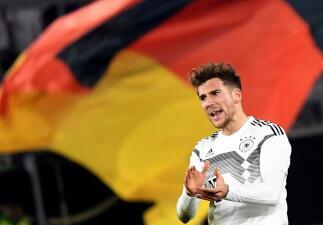 En fotos: una joven Alemania salvó la igualdad en casa contra Serbia en choque amistoso