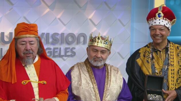 Los 'Reyes Magos' llegarán hasta Los Ángeles River Center para dar regalos a los niños