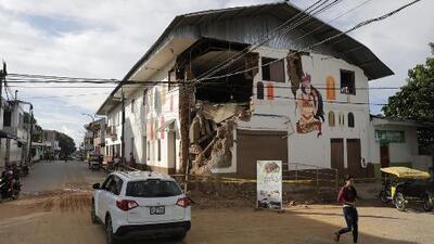 Varios heridos, negocios y casas destruidas: los momentos de pánico en Perú tras el fuerte terremoto de magnitud 7.5