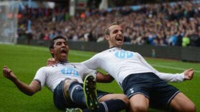 Soldado se reencuentra con el gol y el Tottenham gana en casa del Aston Villa