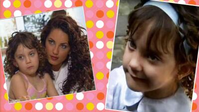 Mira cómo ha crecido la actriz infantil que interpretó a la sobrina de 'Rubí'