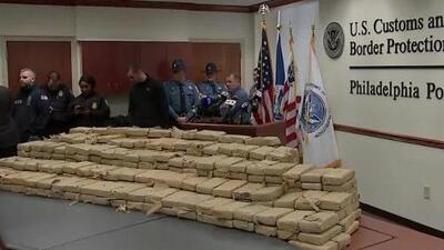 Agencias del orden realizaron la incautación de la mayor cantidad de cocaína en 21 años